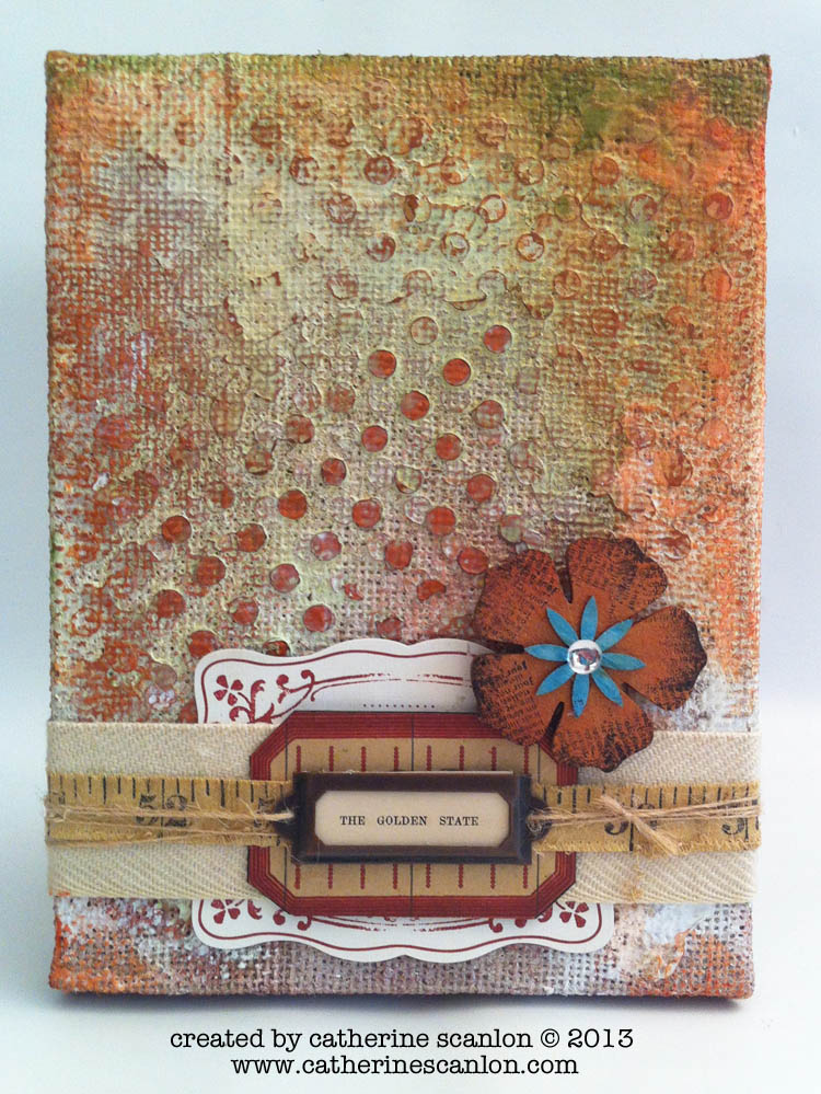 Created by Guest Designer, Catherine Scanlon for eclectic Paperie.