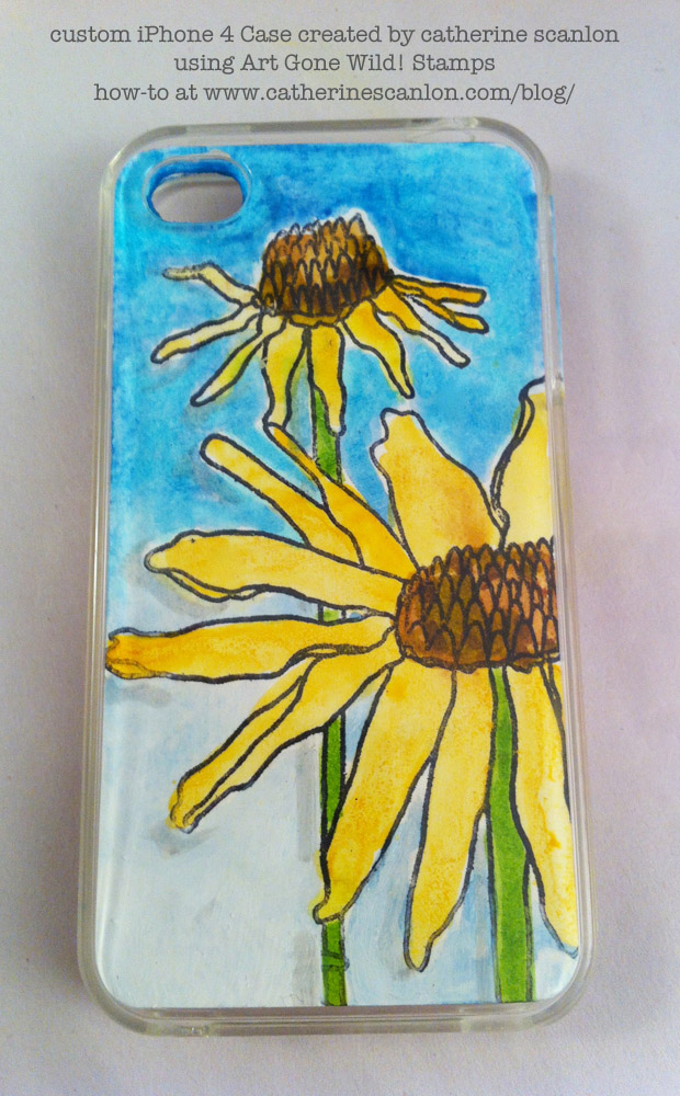 Custom iPhone Case by Catherine Scanlon